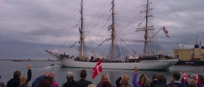 Skoleskibet Danmark Helsingør