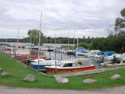 Esrum sø lystfisker robåde