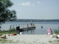 Esrum sø badebro