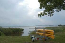 Færdsel med kanoer og kajakker Arresø
