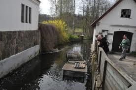 Esrum Møllegaard Esrum Å og vandmølle