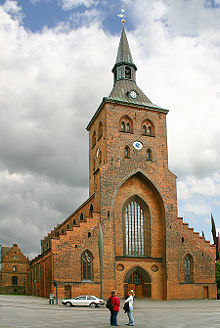 the Cathedral of Odense Denmark