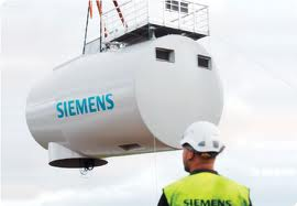 Siemens Wind Power wind energy Brande Denmark