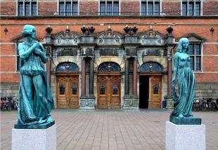 Hamlet og Ophelia Helsingør station