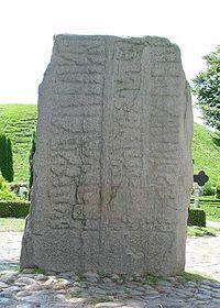 Jelling stenenen Gorm Denmark