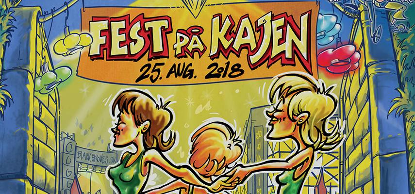 Fest på kajen: Hardinger Band, Gasbox m.fl. Helsingør