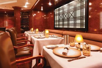 Silversea Luxury dining options